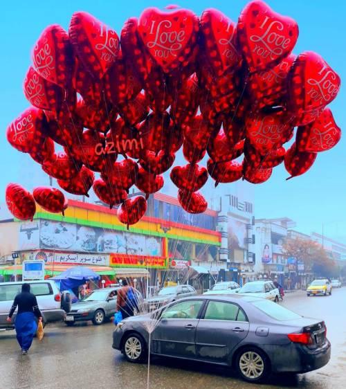 تصویر اختصاصی از روز عاشقان در کابل